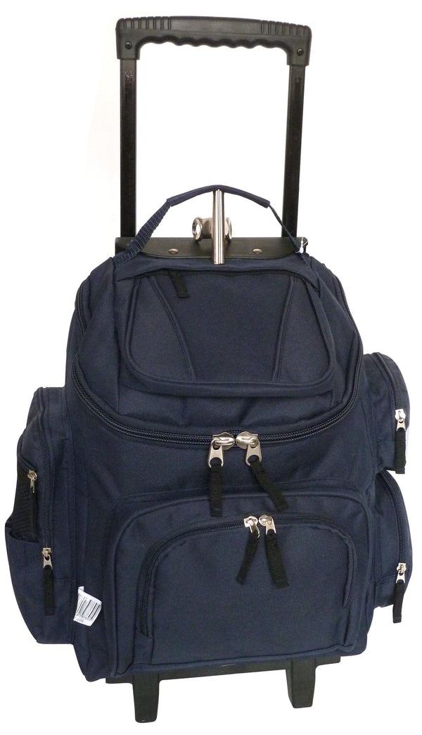 Tosca Top Opening Longboard Plain School Trolley | Navy - KaryKase