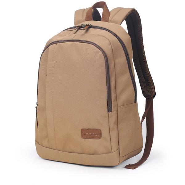 Tosca 14 inch Canvas Backpack | Coffee - KaryKase