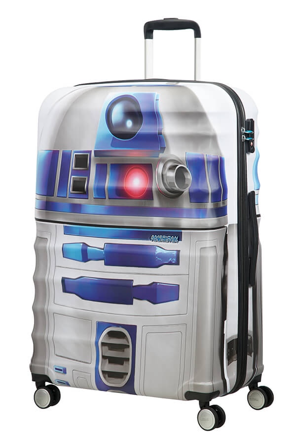 American Tourister Disney Wavebreaker 77cm Spinner | Star Wars R2D2