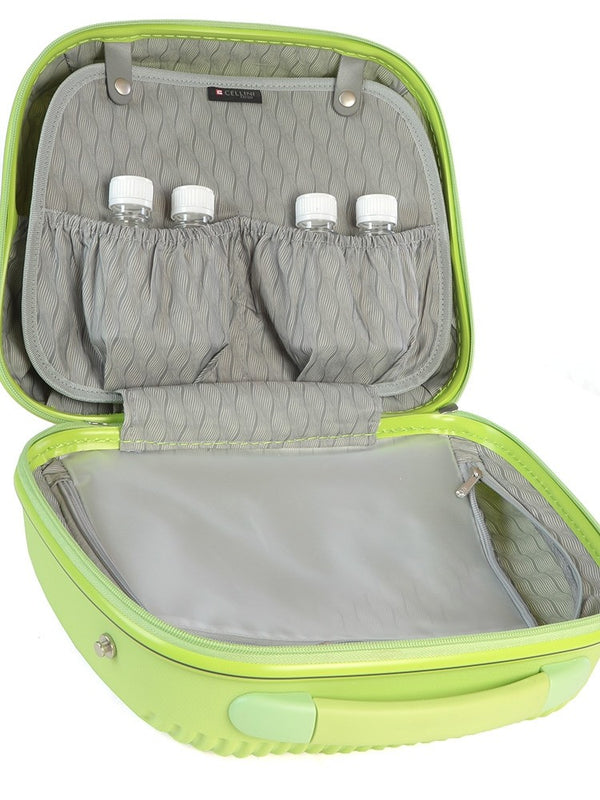 Cellini Rapido Beauty Case | Lime Green - KaryKase