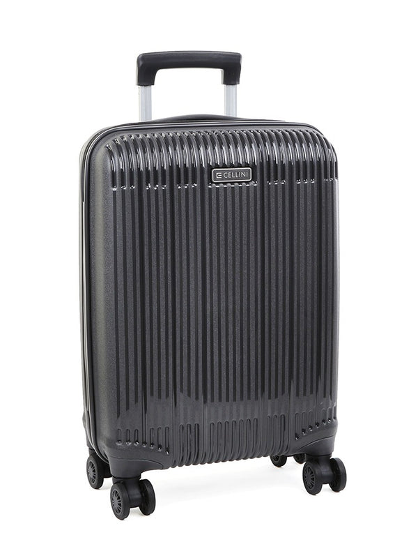Cellini Rapido 54cm 4 Wheel Carry On | Charcoal - KaryKase