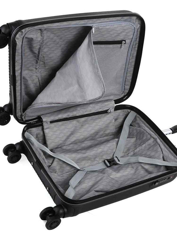 Cellini Rapido 54cm 4 Wheel Carry On | Black - KaryKase