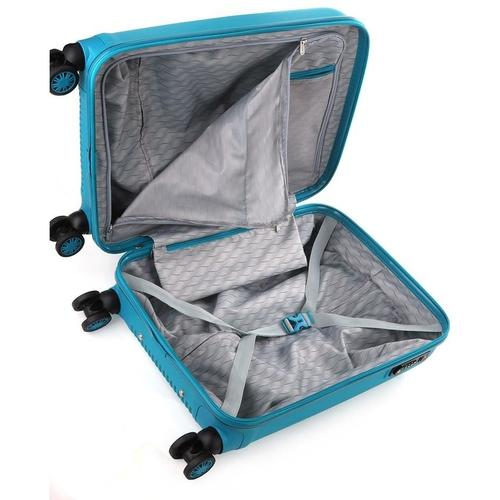 Cellini Rapido 54cm 4 Wheel Carry On | Blue - KaryKase