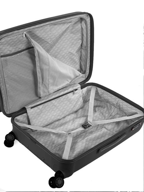 Cellini Rapido 65cm Medium Trolley Case | Black - KaryKase