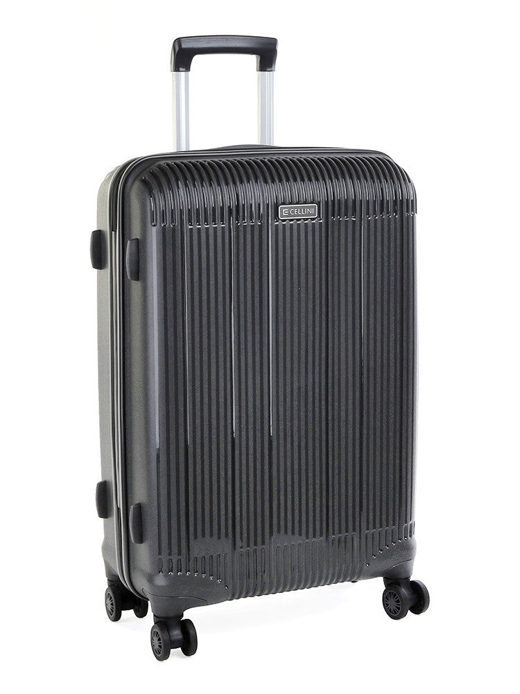 Cellini Rapido 65cm Medium Trolley Case | Charcoal - KaryKase