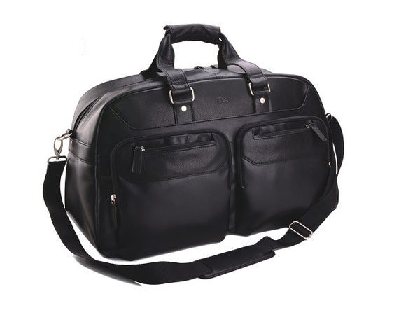 Adpel Continental Travel Duffel Bag | Black - KaryKase