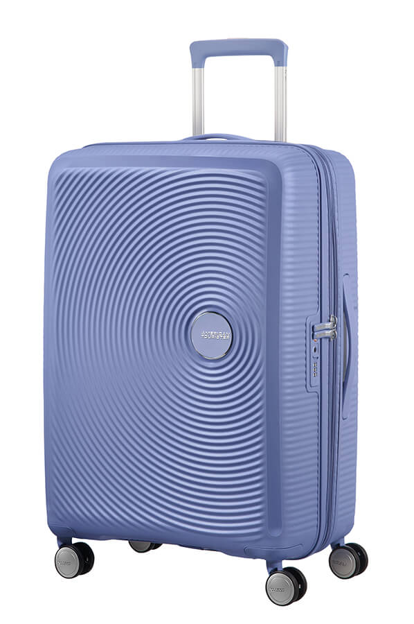 American Tourister Soundbox 67cm Medium Spinner-Expandable | Denim Blue