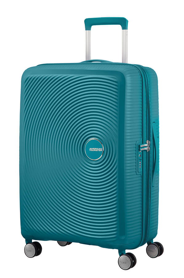 American Tourister Soundbox 67cm Medium Spinner-Expandable | Jade Green