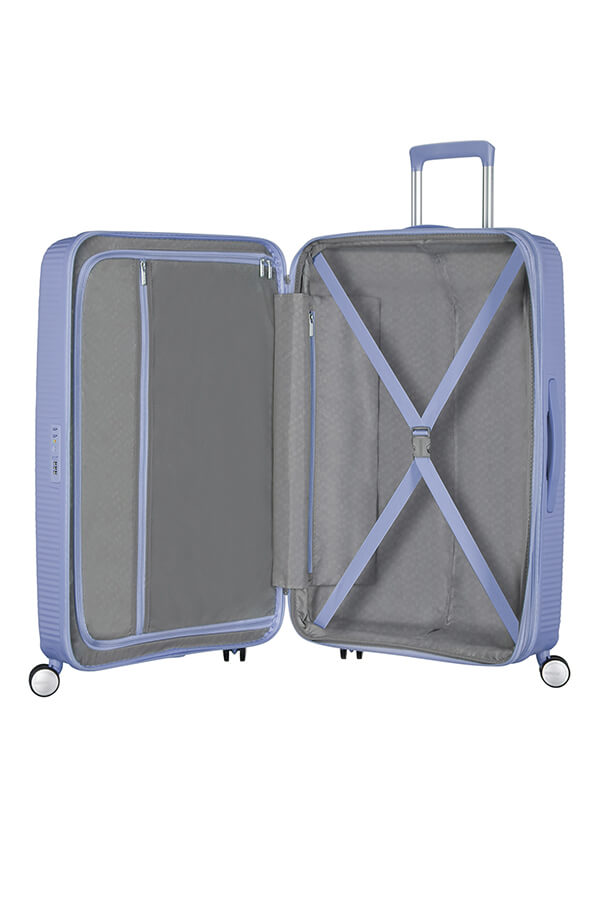American Tourister Soundbox 77cm Large Spinner - Expandable | Denim Blue