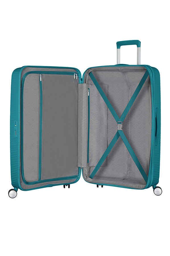 American Tourister Soundbox 77cm Large Spinner - Expandable | Jade Green