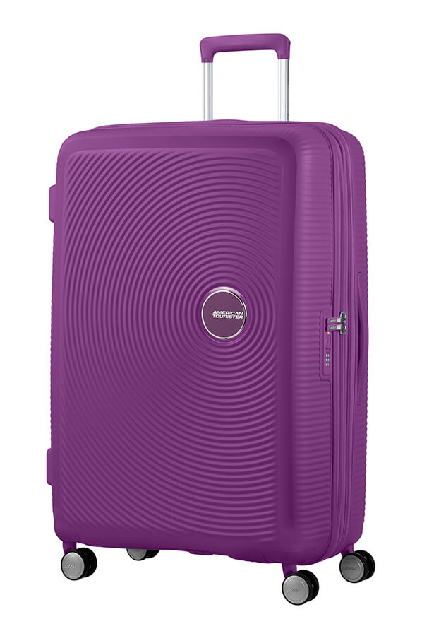 American Tourister Soundbox 77cm Large Spinner - Expandable | Purple Orchid