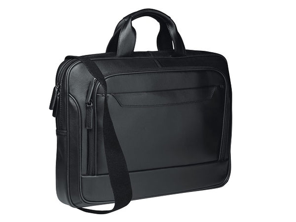 "Adpel Spectrum 17"" Leather Laptop Bag 