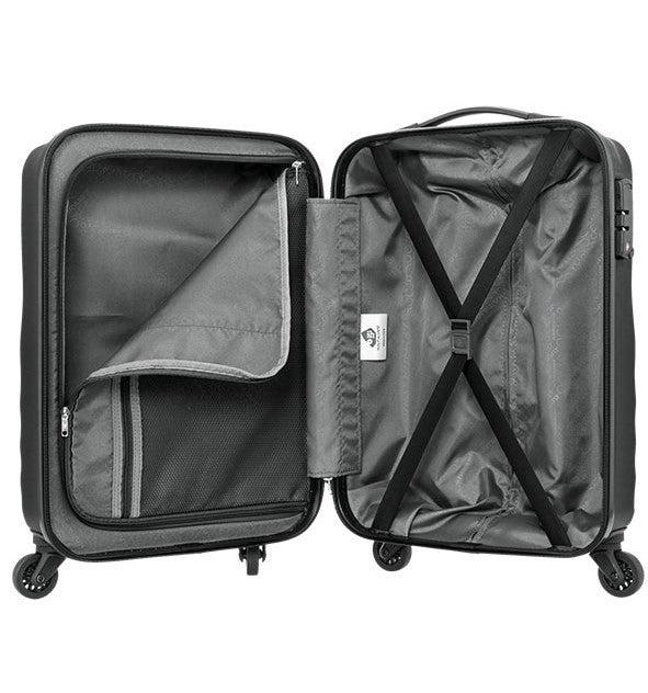 Kamiliant Kam Kapa Luggage Set | Deep Black - KaryKase