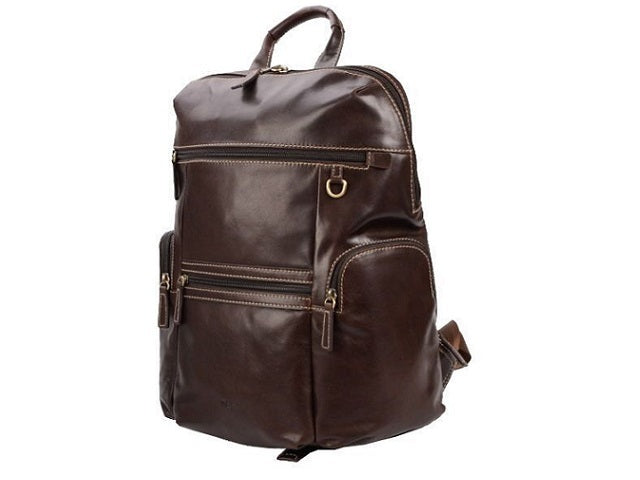 Adpel Day Tripper Leather Backpack | Brown - KaryKase