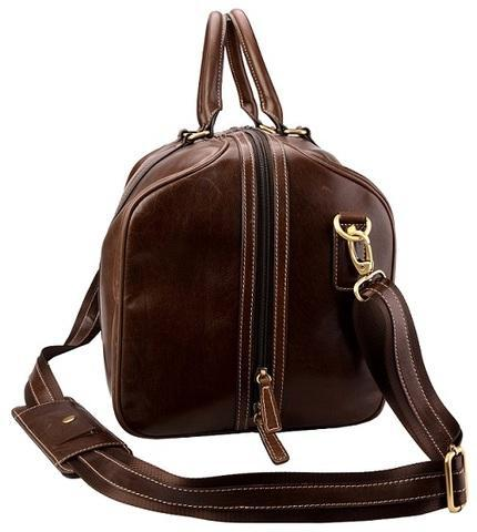 Adpel Panema leather Travel Bag | Brown - KaryKase
