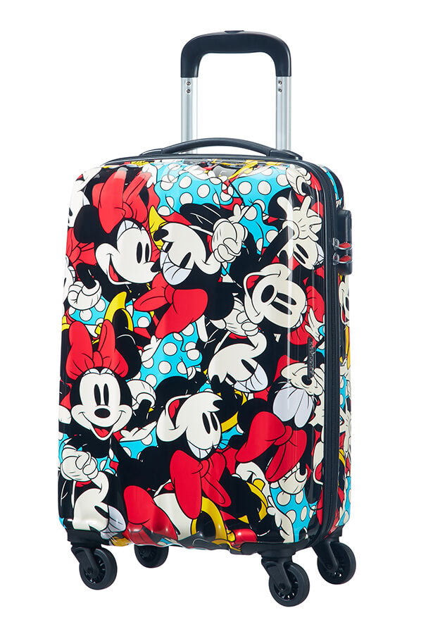 American Tourister Disney Legends 55cm Cabin Spinner | Minnie Comics - KaryKase