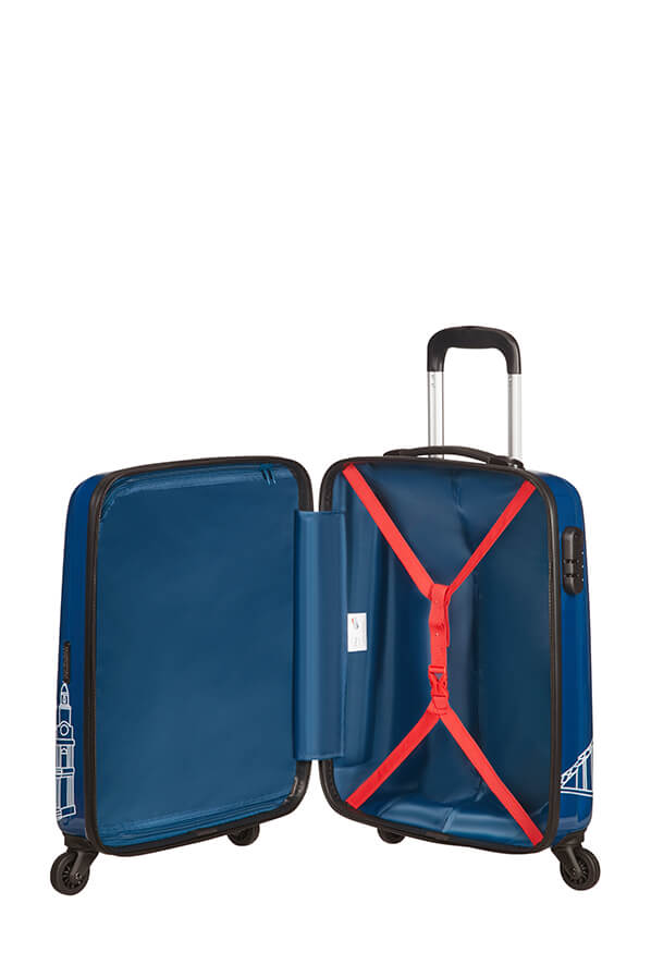 American Tourister Disney Legends 55cm Cabin Spinner | Mickey London - KaryKase