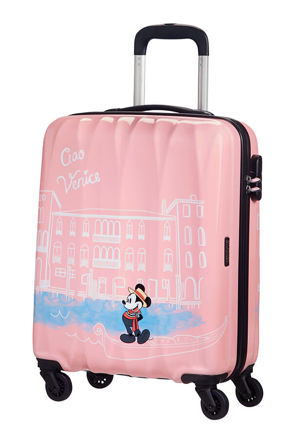 American Tourister Disney Legends 55cm Cabin Spinner | Mickey Venice - KaryKase