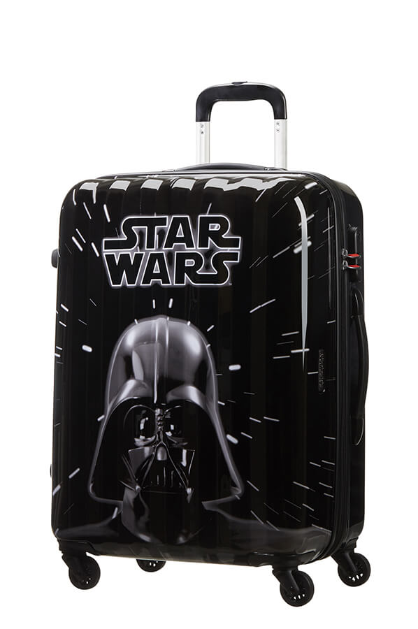 American Tourister Disney Star Wars Legends 65cm Medium Spinner | Neon Darth Vader