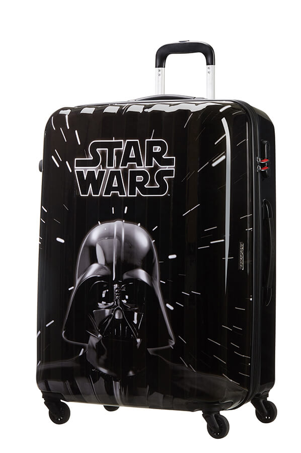 American Tourister Disney Star Wars Legends 75cm Large Spinner | Neon Darth Vader