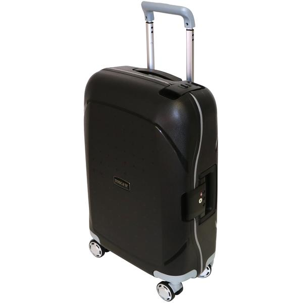Tosca Guardian 55cm Cabin Trolley | Black - KaryKase
