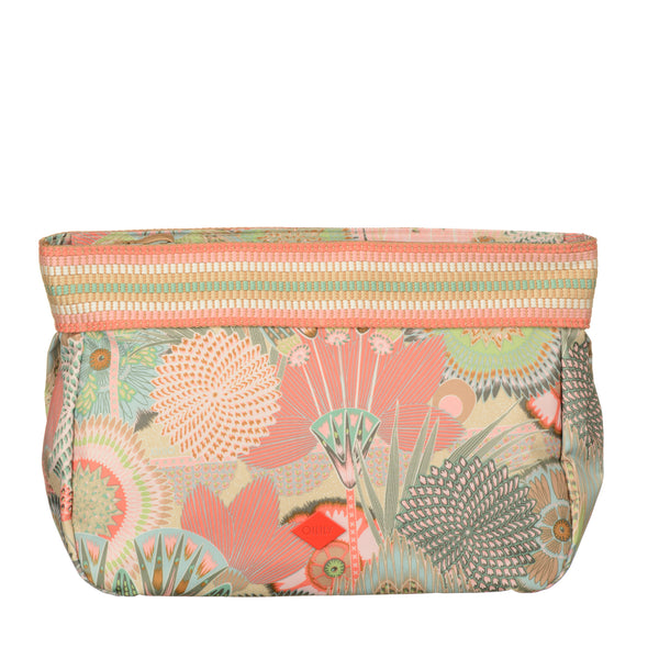 Oilily Large Cosmetic Pouch | Peach Rose