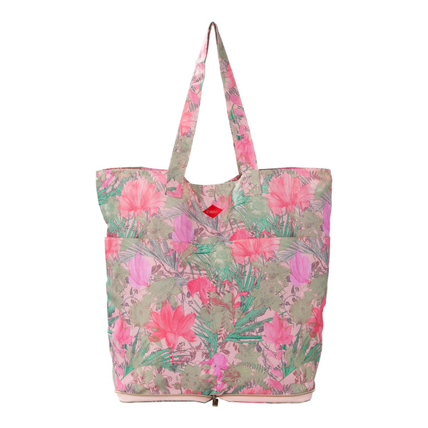 Oilily Ladies Folding Shopper Bag | Melon - KaryKase