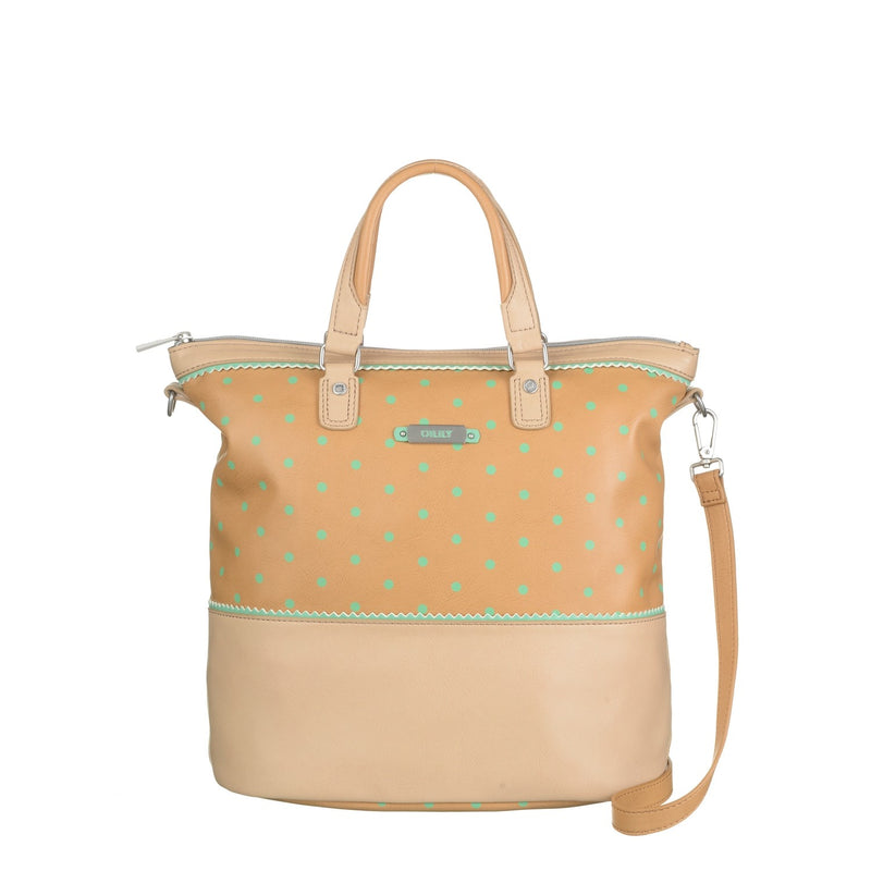 Oilily Ladies Tote Shoulder Bag/Backpack | Tan
