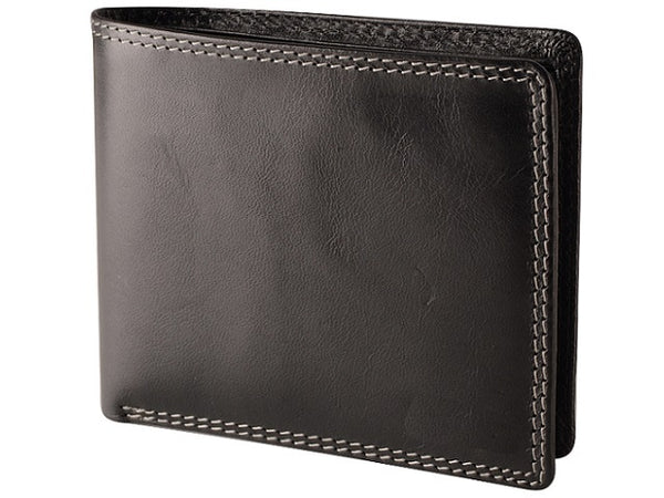 Adpel Dakota Leather Wallet | Black - KaryKase