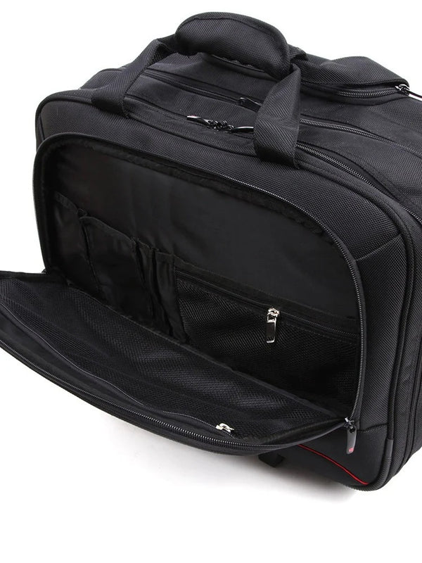 Cellini Smartcase Trolley Business Case | Black - KaryKase