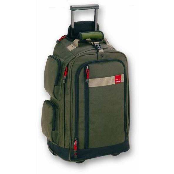 Tosca Trail Cardura Large Trolley Backpack | Green - KaryKase