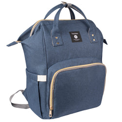 Totes Babe Alma 18L Diaper Backpack | Navy - KaryKase