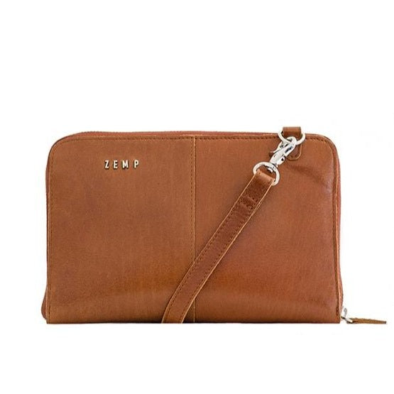 Zemp Ayo Ladies Slingbag And Purse Hybrid | Toffee Tan - KaryKase