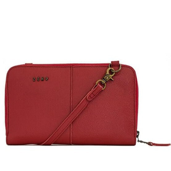 Zemp Ayo Ladies Slingbag And Purse Hybrid | Red - KaryKase