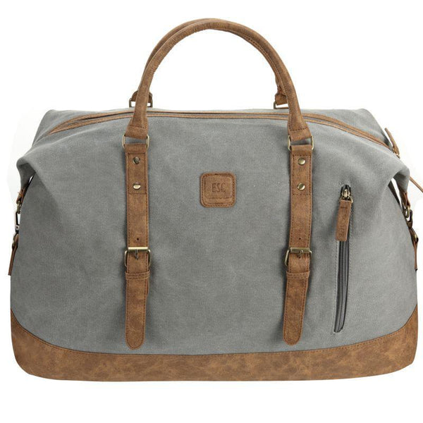 Escape Classic Canvas Large Travel Bag | Light Grey