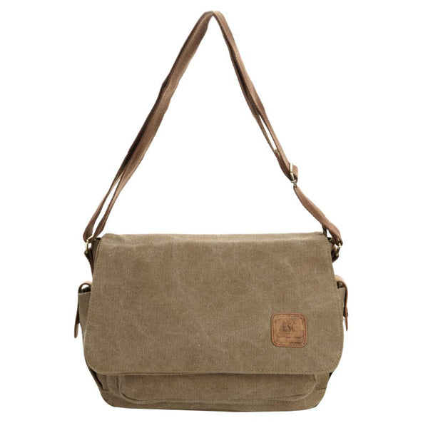 Escape Classic Canvas Unisex Bag | Light Brown - KaryKase