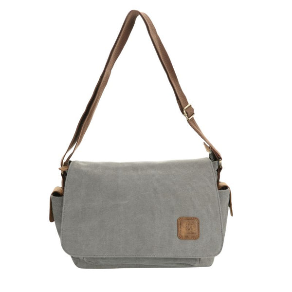Escape Classic Canvas Unisex Bag | Light Grey - KaryKase