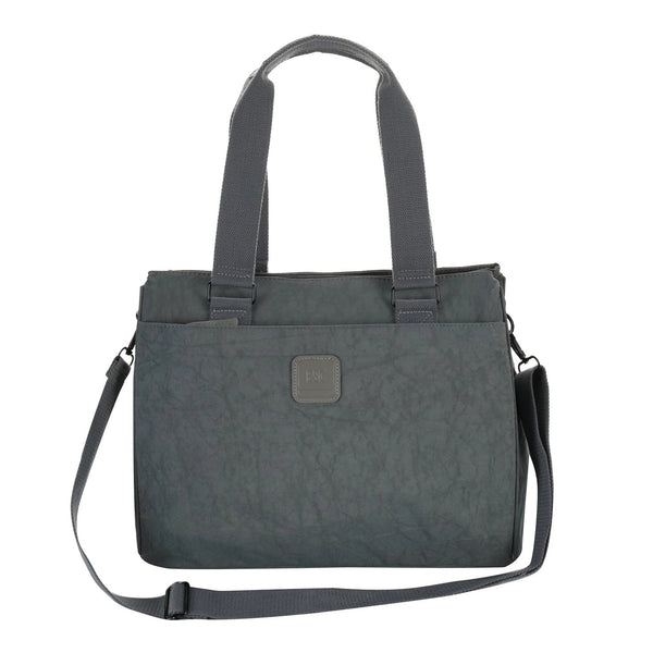 Escape Square Nylon Utility Handbag | Grey - KaryKase