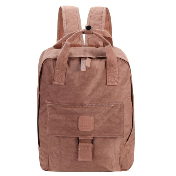 Escape Nylon Utility Laptop Backpack | Antique Pink - KaryKase
