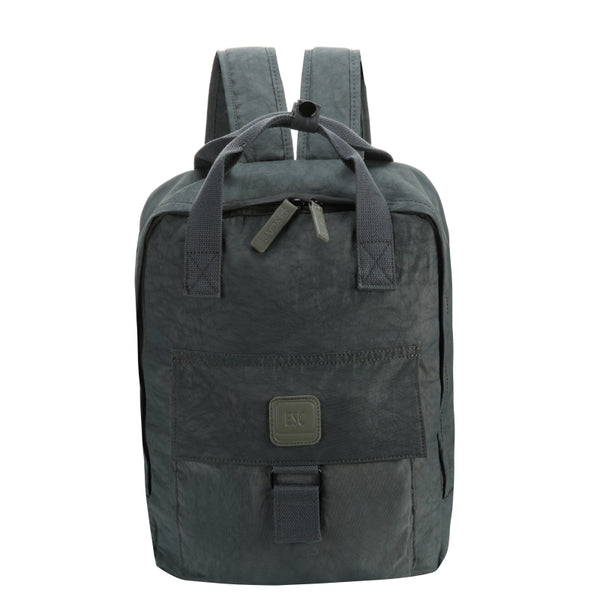 Escape Nylon Utility Laptop Backpack | Grey - KaryKase