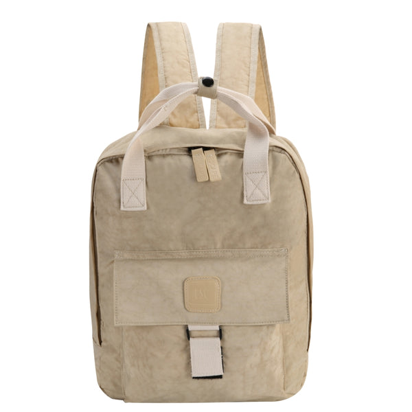 Escape Nylon Utility Laptop Backpack | Light Taupe - KaryKase