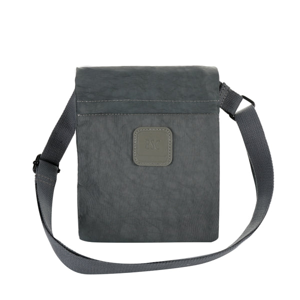 Escape Nylon Utility Cross Body Bag | Grey - KaryKase