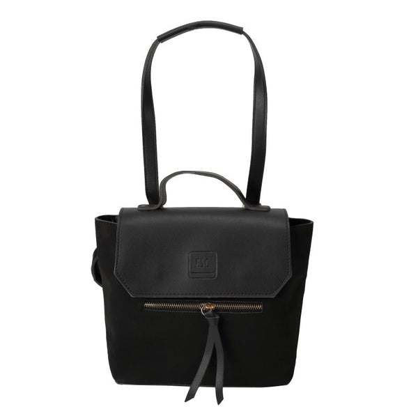 Escape Two Texture Backpack | Black - KaryKase