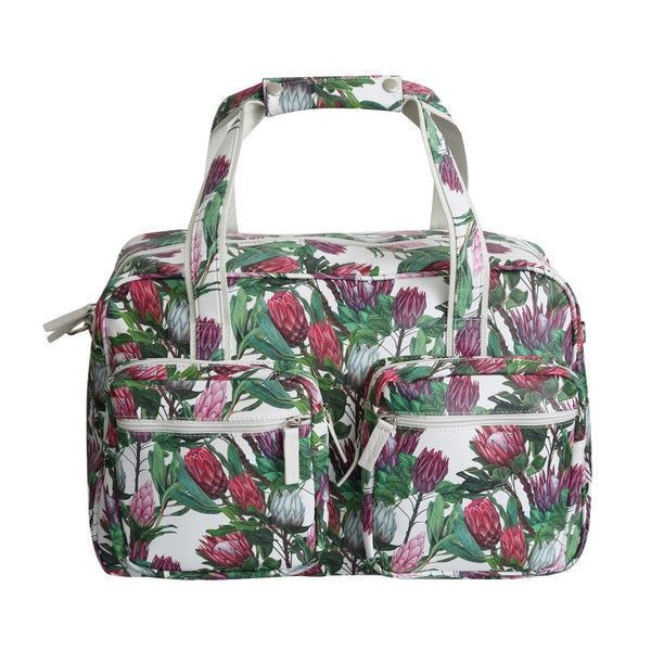 SoGood-Candy Weekender Bag | Queen Protea PU - KaryKase