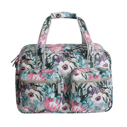 SoGood-Candy Weekender Bag | King Protea PU - KaryKase