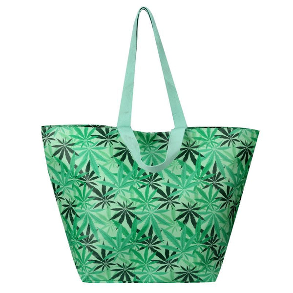 SoGood-Candy Beach Tote Bag | Cannabis PU - KaryKase