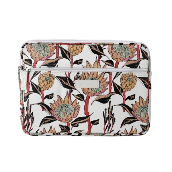SoGood - Candy 13 inch Laptop Sleeve | Artistic Protea PU - KaryKase