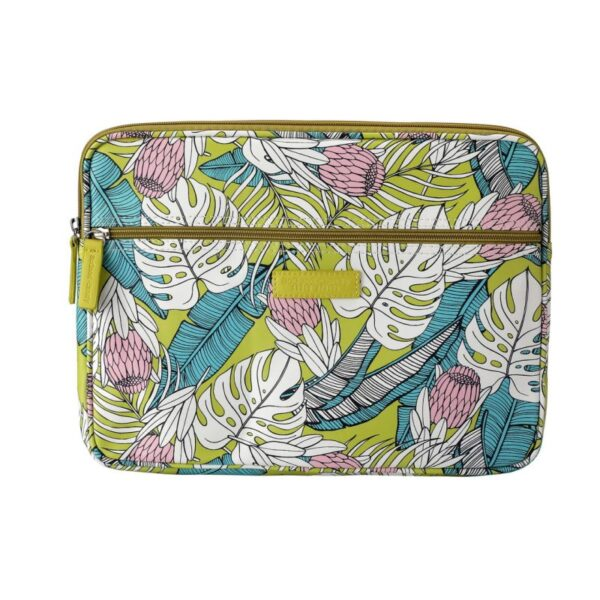 SoGood - Candy 13 inch Laptop Sleeve | Tropical Protea PU - KaryKase