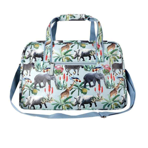 SoGood-Candy Weekender Bag | African Safari PU - KaryKase