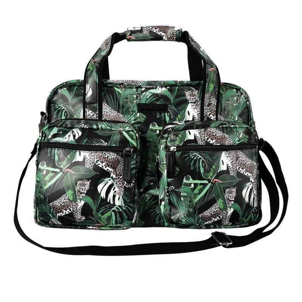 SoGood-Candy Weekender Bag | Jungle Leopard PU - KaryKase